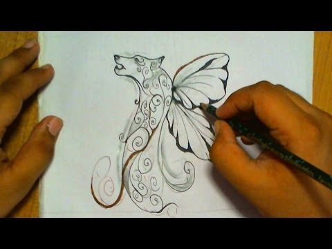 How to Draw a Dragon Dog | 3D Art Drawing