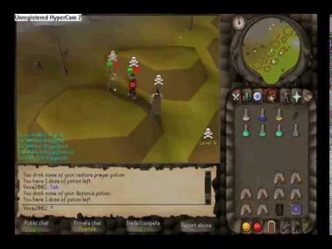 Runescape Pk Video 1! -Vova2002 (Old Wildy)
