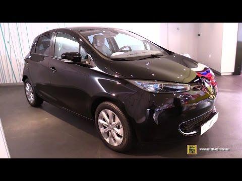 2014 Renault Zoe Electric Car - Exterior Walkaround - Paris Champs Elysees Renault