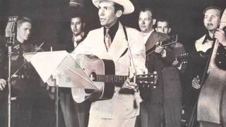 Watch Hank Williams Why Dont You Love Me video