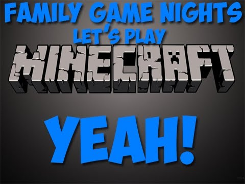 Family Game Nights in Minecraft: Ep8 - RAILROAD TIME