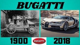 Evolution of Bugatti(1900-2018)