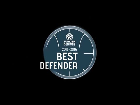 2015-16 Best Defender Trophy: Kyle Hines, CSKA Moscow