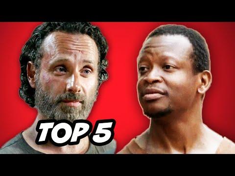 Walking Dead Season 5 Episode 2  TOP 5 WTF Moments