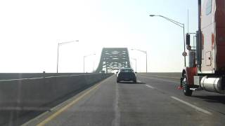 Delaware River (Turnpike) Toll Bridge eastbound
