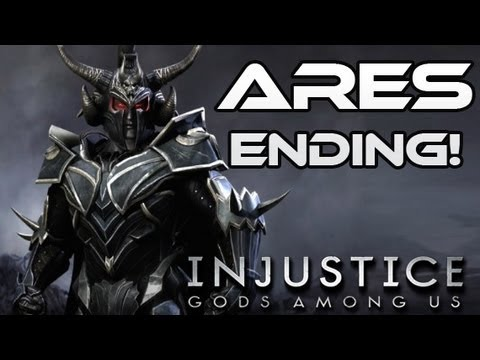 Injustice: Gods Among Us - Ares Ending!