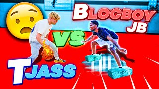 BlocBoy JB Wanted Smoke! Trash Talking 1v1 Basketball!