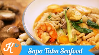 Resep Sapo Tahu Seafood (Claypot Tofu Recipe Video) | GERRY GIRIANZA
