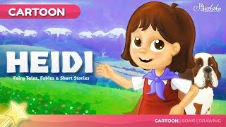 Heidi - The Girl of the Alps Kids Story | Fairy Tales Bedtime Stories for Kids
