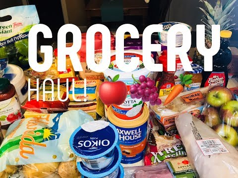 Weight Watchers Huge Grocery Haul! March 2018