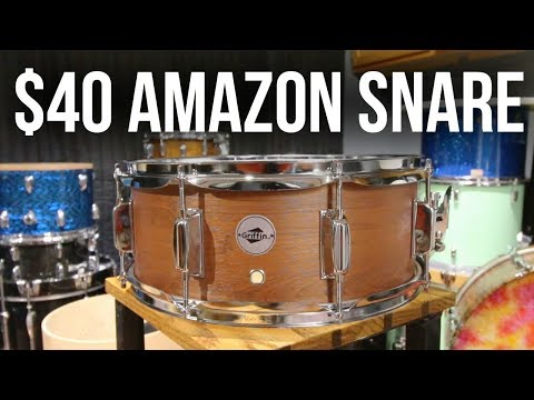 The CHEAPEST SNARE on Amazon - worth it? -