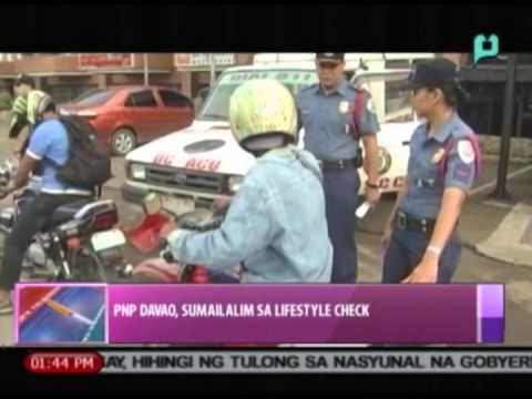 News@1: PNP Davao, sumailalim sa lifestyle check || Oct. 9, 2014