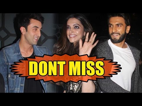Don't Miss: Ranbir Kapoor And Ranveer Singh's Crazy Dance With Deepika Padukone At A Party