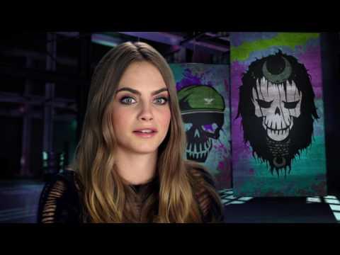 "Suicide Squad: Cara Delevingne ""Enchantress"" Behind the Scenes Movie Interview"