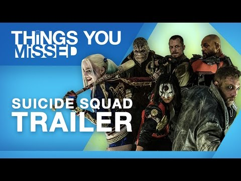 Things You Missed in the Suicide Squad Trailer