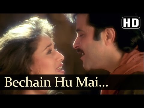 Bechain Hoon Main - Madhuri Dixit - Anil Kapoor - Rajkumar - Hindi Song video