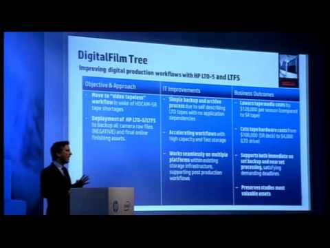 The Value of HP Tape for Digital Archiving