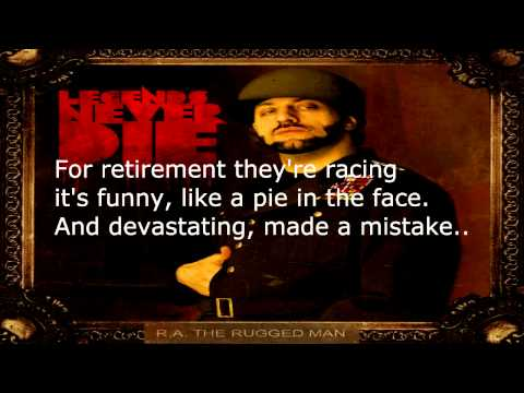 R A The Rugged Man Definition Of A Rap Flow Lyrics
