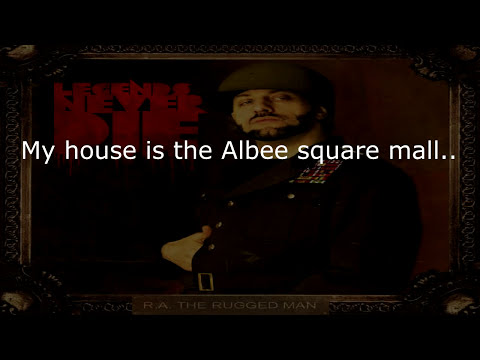 R.A. The Rugged Man - Definition Of A Rap Flow (Lyrics) ᴴᴰ