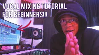 HOW TO MIX RAP VOCALS FOR BEGINNERS 💜(Fl Studio Vocal Mixing Tutorial)