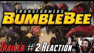 Bumblebee Trailer #2 Angry Reaction!