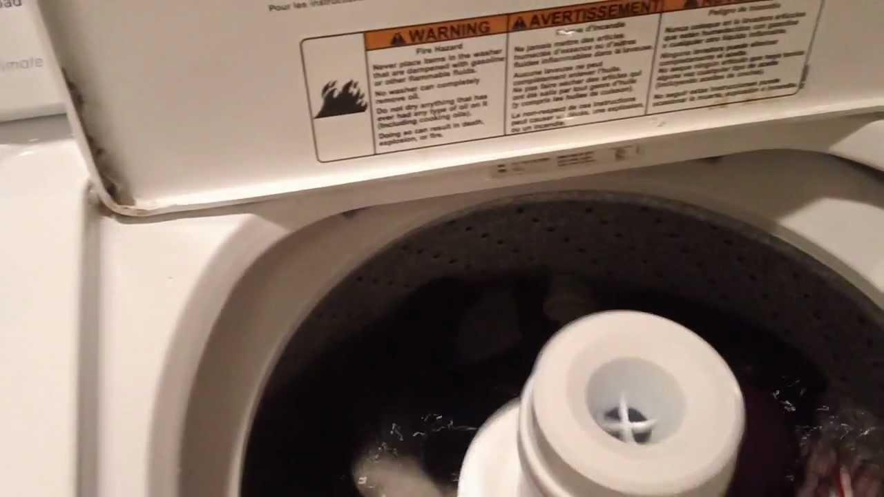 Whirlpool Washer Ulitimate Care Ii Youtube