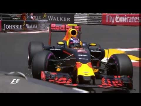 MAX VERSTAPPEN CRASH?! | Slow Motion | GP Monaco Qualifying 2016