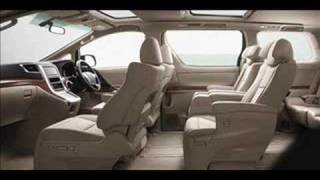 all new toyota alphard 2008