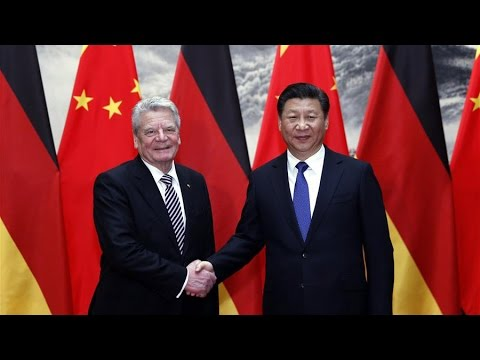 President Xi Jinping meets German President Joachim Gauck in Beijing