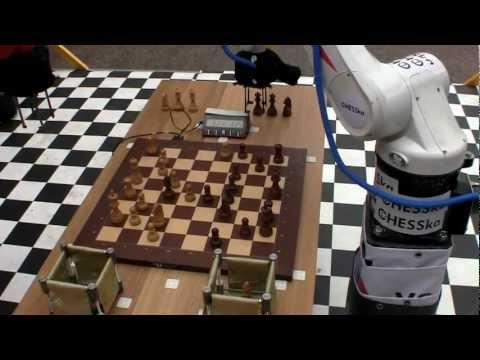 3-d game Robot - Robot Chess Match Kuka Chesska 2012-05-19 15:46:48