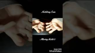 Natural long nails, first video by AlluringNails02 (video 1)