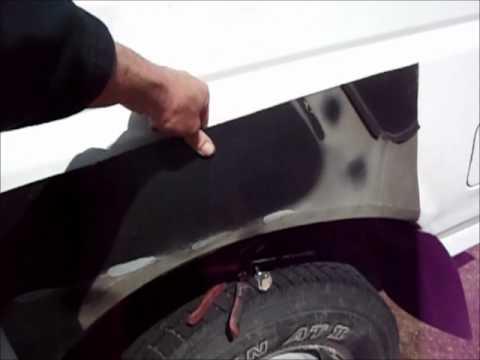 Ford Truck Bed Rust Repair