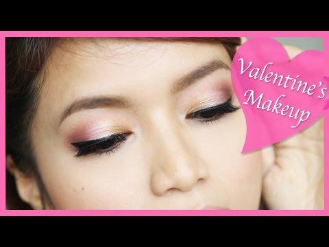 Valentine's Day Makeup Tutorial - Valentin napi smink