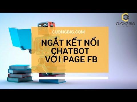 Chương 2-09 Ngắt kết nối với page Facebook