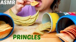 ASMR PRINGLES & LAY's CHIPS  먹방 *No Talking* Eating Sounds suellASMR