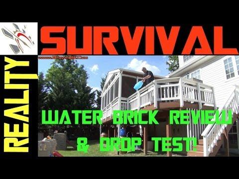 Urban Survival Gear: Water Brick Review