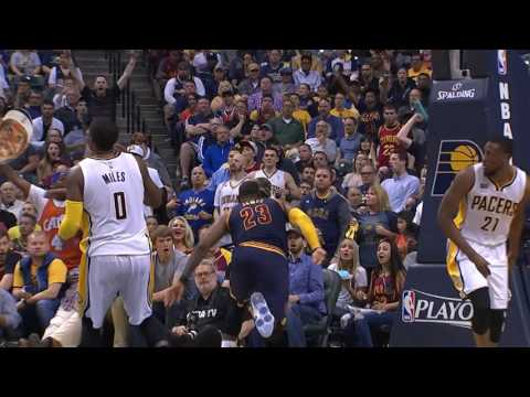 Cleveland Cavaliers vs Indiana Pacers: April 23, 2017
