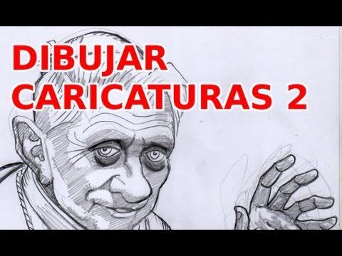 Prácticas de Dibujo PROFESIONAL- CARICATURA 2-