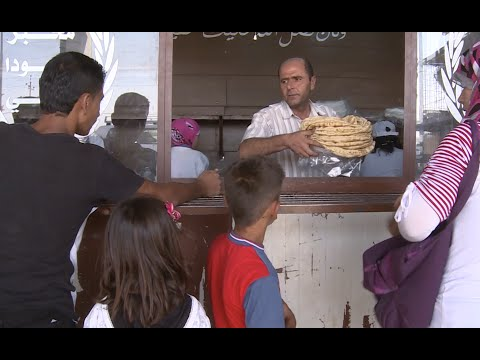 Iraq: Syrian Refugees Breaking Bread