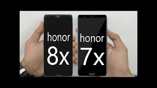 HONOR 8X VS HONOR 7X