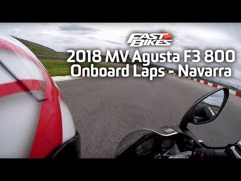 2018 MV Agusta F3 800 - Onboard Laps - Navarra
