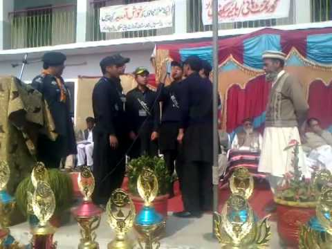 Govt High School Babarra Annual Awards Ceremony 2014 (milli Naghma 2) video