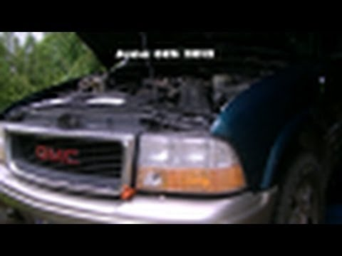 98 GMC Jimmy - Removing the Fuel Tank