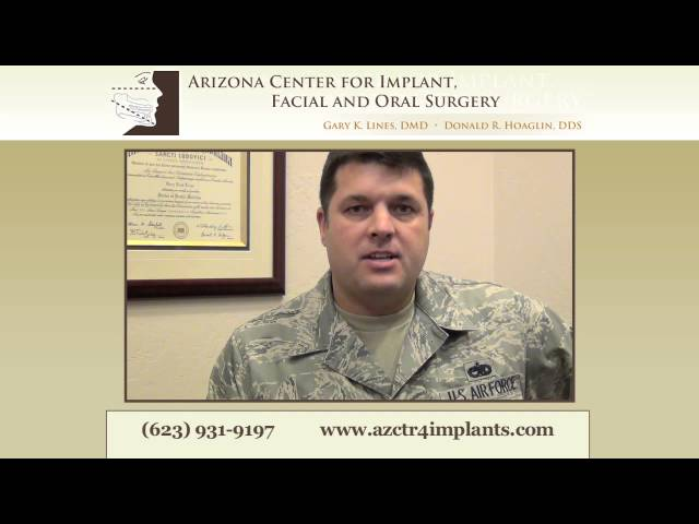 Phoenix Dental Implant Patient Shares Story -- Military Testimonial