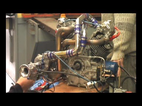 Honda GX 620 Turbo V2 Part Two - YouTube