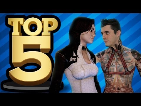 Top 5 Sex Scenes In Games (top 5) video
