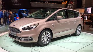 Ford S-Max Vignale 2016 In detail review walkaround Exterior