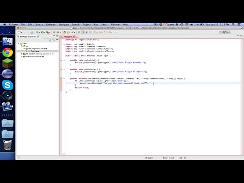 Bukkit Coding ~ Episode 1: Test Plugin