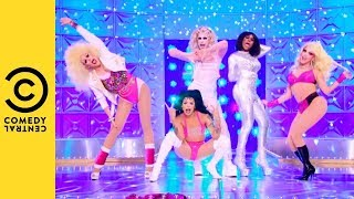 Sitting On A Secret | Lyric Video | RuPaul's Drag Race