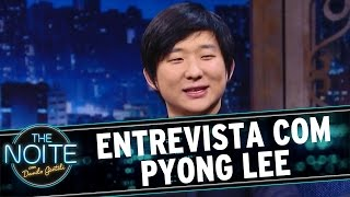 The Noite (24/06/16) - Entrevista com Pyong Lee